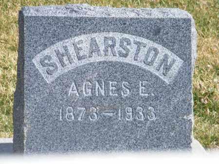 SHEARSTON, AGNES ELSIE - Adams County, Colorado | AGNES ELSIE SHEARSTON - Colorado Gravestone Photos