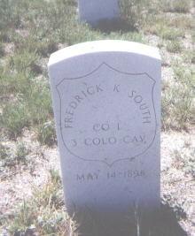SOUTH, FREDRICK K. - Adams County, Colorado | FREDRICK K. SOUTH - Colorado Gravestone Photos