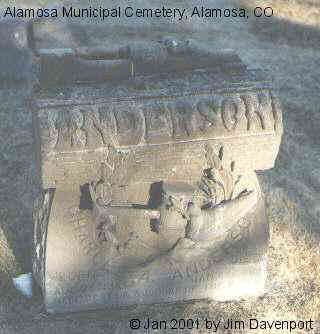 ANDERSON, CHARLES A. - Alamosa County, Colorado | CHARLES A. ANDERSON - Colorado Gravestone Photos