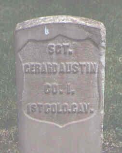 AUSTIN, GERARD - Alamosa County, Colorado | GERARD AUSTIN - Colorado Gravestone Photos