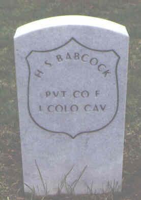 BABCOCK, H. S. - Alamosa County, Colorado   H. S. BABCOCK - Colorado Gravestone Photos