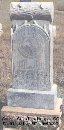 BAKER, GEORGE C. - Alamosa County, Colorado | GEORGE C. BAKER - Colorado Gravestone Photos