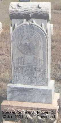 BAKER, GEORGE C. - Alamosa County, Colorado | GEORGE C. BAKER - Colorado Gravestone Photos