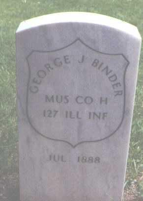 BINDER, GEORGE J. - Alamosa County, Colorado | GEORGE J. BINDER - Colorado Gravestone Photos