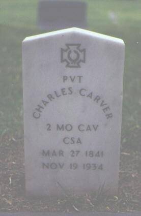 CARVER, CHARLES - Alamosa County, Colorado | CHARLES CARVER - Colorado Gravestone Photos