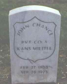CHANCE, JOHN - Alamosa County, Colorado | JOHN CHANCE - Colorado Gravestone Photos