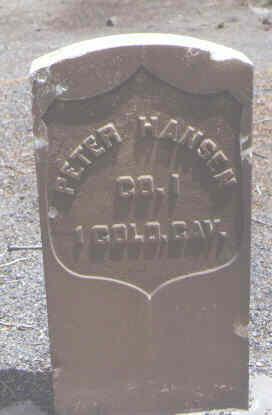 HANSEN, PETER - Alamosa County, Colorado | PETER HANSEN - Colorado Gravestone Photos