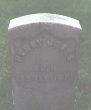 JONES, HENRY - Alamosa County, Colorado | HENRY JONES - Colorado Gravestone Photos