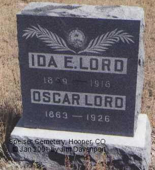 LORD, OSCAR - Alamosa County, Colorado | OSCAR LORD - Colorado Gravestone Photos
