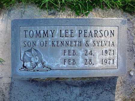 PEARSON, TOMMY LEE - Alamosa County, Colorado   TOMMY LEE PEARSON - Colorado Gravestone Photos