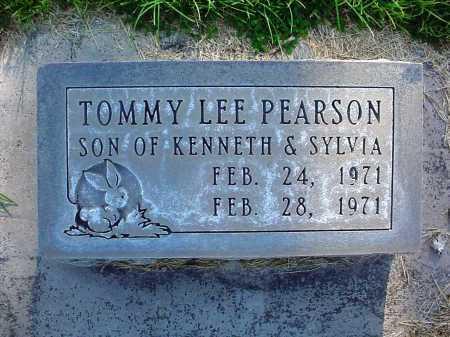 PEARSON, TOMMY LEE - Alamosa County, Colorado | TOMMY LEE PEARSON - Colorado Gravestone Photos