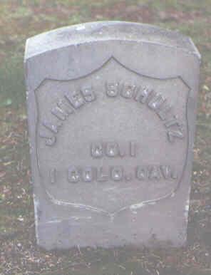 SCHULTZ, JAMES - Alamosa County, Colorado   JAMES SCHULTZ - Colorado Gravestone Photos