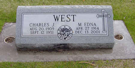 WEST, MARY EDNA - Alamosa County, Colorado | MARY EDNA WEST - Colorado Gravestone Photos
