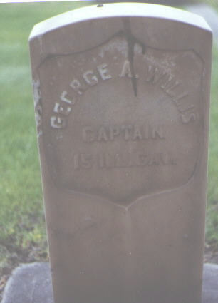 WILLIS, GEORGE A. - Alamosa County, Colorado | GEORGE A. WILLIS - Colorado Gravestone Photos