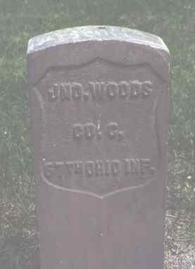 WOODS, JNO. - Alamosa County, Colorado | JNO. WOODS - Colorado Gravestone Photos