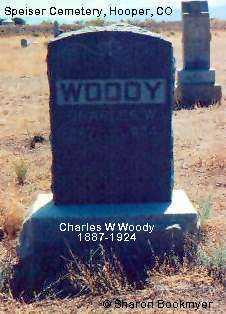 WOODY, CHARLES W. - Alamosa County, Colorado   CHARLES W. WOODY - Colorado Gravestone Photos