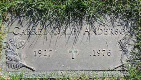 ANDERSON, CARREL DALE - Arapahoe County, Colorado | CARREL DALE ANDERSON - Colorado Gravestone Photos