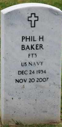 BAKER, PHIL HARRISON - Arapahoe County, Colorado | PHIL HARRISON BAKER - Colorado Gravestone Photos