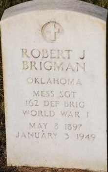BRIGMAN, ROBERT J - Arapahoe County, Colorado | ROBERT J BRIGMAN - Colorado Gravestone Photos