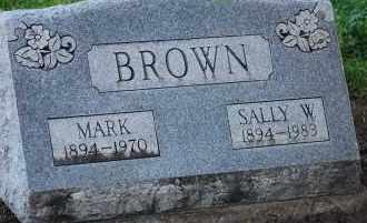 BROWN, MARK - Arapahoe County, Colorado | MARK BROWN - Colorado Gravestone Photos