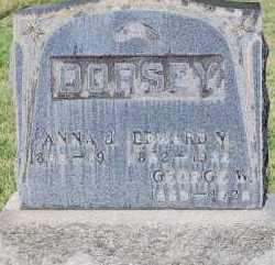 DORSEY, GEORGE W - Arapahoe County, Colorado   GEORGE W DORSEY - Colorado Gravestone Photos