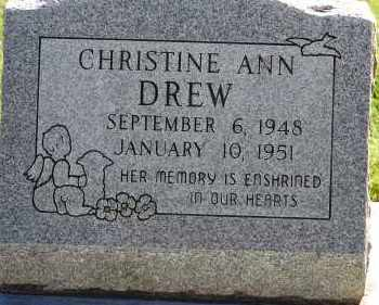 DREW, CHRISTINE ANN - Arapahoe County, Colorado | CHRISTINE ANN DREW - Colorado Gravestone Photos