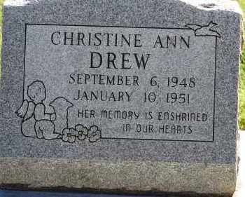 DREW, CHRISTINE ANN - Arapahoe County, Colorado | CHRISTINE ANN DREW - Colorado Gravestone Photos