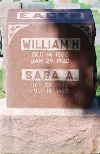 EAGER, WILLIAM H - Arapahoe County, Colorado | WILLIAM H EAGER - Colorado Gravestone Photos