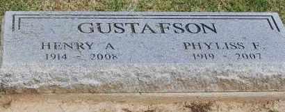 GUSTAFSON, HENRY A - Arapahoe County, Colorado | HENRY A GUSTAFSON - Colorado Gravestone Photos