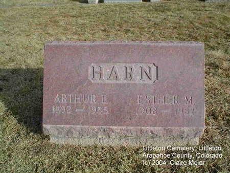 HARN, ESTHER M. - Arapahoe County, Colorado | ESTHER M. HARN - Colorado Gravestone Photos