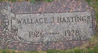 HASTINGS, WALLACE J - Arapahoe County, Colorado | WALLACE J HASTINGS - Colorado Gravestone Photos