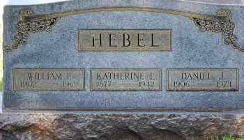 HEBEL, WILLIAM E - Arapahoe County, Colorado | WILLIAM E HEBEL - Colorado Gravestone Photos