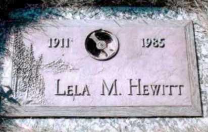 HEWITT, LELA M - Arapahoe County, Colorado   LELA M HEWITT - Colorado Gravestone Photos