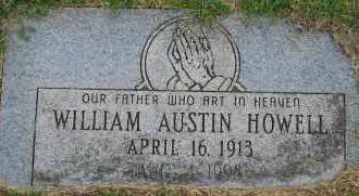 HOWELL, WILLIAM AUSTIN - Arapahoe County, Colorado | WILLIAM AUSTIN HOWELL - Colorado Gravestone Photos