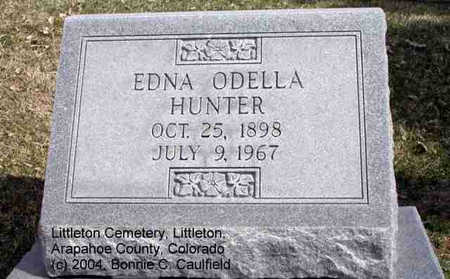 HUNTER, EDNA ODELLA - Arapahoe County, Colorado   EDNA ODELLA HUNTER - Colorado Gravestone Photos