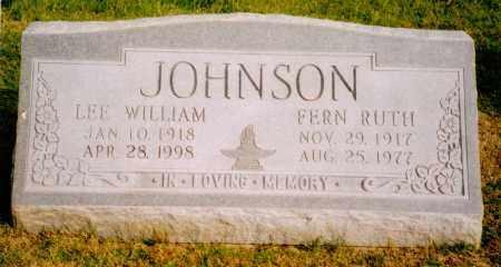 JOHNSON, LEE WILLIAM - Arapahoe County, Colorado | LEE WILLIAM JOHNSON - Colorado Gravestone Photos