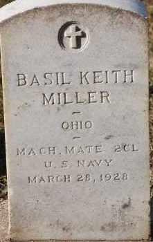 MILLER, BASIL KEITH - Arapahoe County, Colorado | BASIL KEITH MILLER - Colorado Gravestone Photos