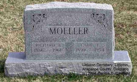 MOELLER, CARIE E. - Arapahoe County, Colorado   CARIE E. MOELLER - Colorado Gravestone Photos
