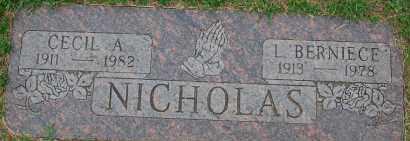 NICHOLAS, LULU BERNIECE - Arapahoe County, Colorado | LULU BERNIECE NICHOLAS - Colorado Gravestone Photos