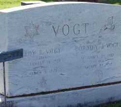 VOGT, DOROTHY J - Arapahoe County, Colorado | DOROTHY J VOGT - Colorado Gravestone Photos