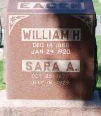 EAGER, SARA A - Arapahoe County, Colorado | SARA A EAGER - Colorado Gravestone Photos