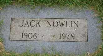 NOWLIN, JACK - Arapahoe County, Colorado | JACK NOWLIN - Colorado Gravestone Photos