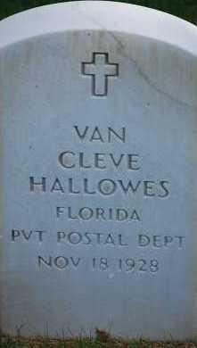 HALLOWES, VAN CLEVE - Arapahoe County, Colorado | VAN CLEVE HALLOWES - Colorado Gravestone Photos