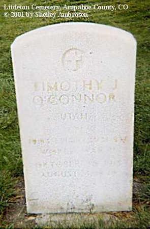 O'CONNOR, TIMOTHY J. - Arapahoe County, Colorado | TIMOTHY J. O'CONNOR - Colorado Gravestone Photos