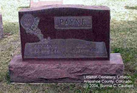 PAYNE, CLINTON B. - Arapahoe County, Colorado | CLINTON B. PAYNE - Colorado Gravestone Photos