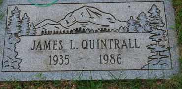 QUINTRALL, JAMES L - Arapahoe County, Colorado | JAMES L QUINTRALL - Colorado Gravestone Photos