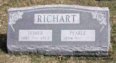 RICHART, PEARLE - Arapahoe County, Colorado   PEARLE RICHART - Colorado Gravestone Photos