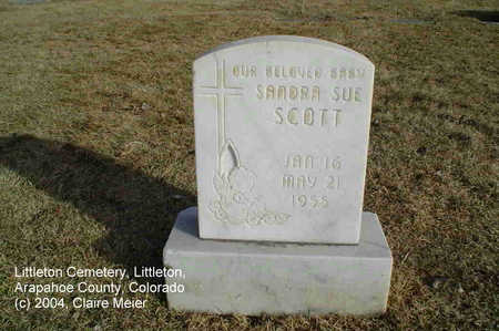 SCOTT, SANDRA SUE - Arapahoe County, Colorado | SANDRA SUE SCOTT - Colorado Gravestone Photos