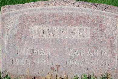 OWENS, SARAH MARILLA - Arapahoe County, Colorado | SARAH MARILLA OWENS - Colorado Gravestone Photos