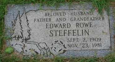 STEFFELIN, EDWARD ROWE - Arapahoe County, Colorado | EDWARD ROWE STEFFELIN - Colorado Gravestone Photos